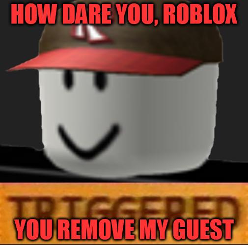 meme 2 5: roblox remove guest by JackMeme5556 on DeviantArt