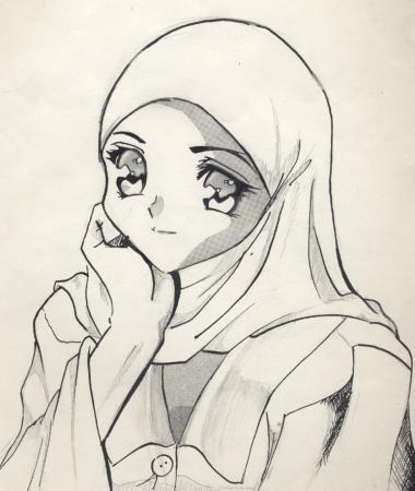 Muslim Girl by Asia Alfasi
