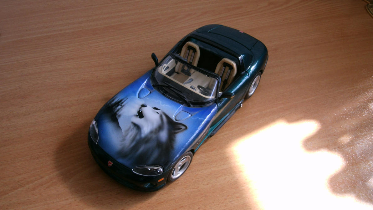 Model-Car: Dodge VIPER with a Husky by ASKABANIUM