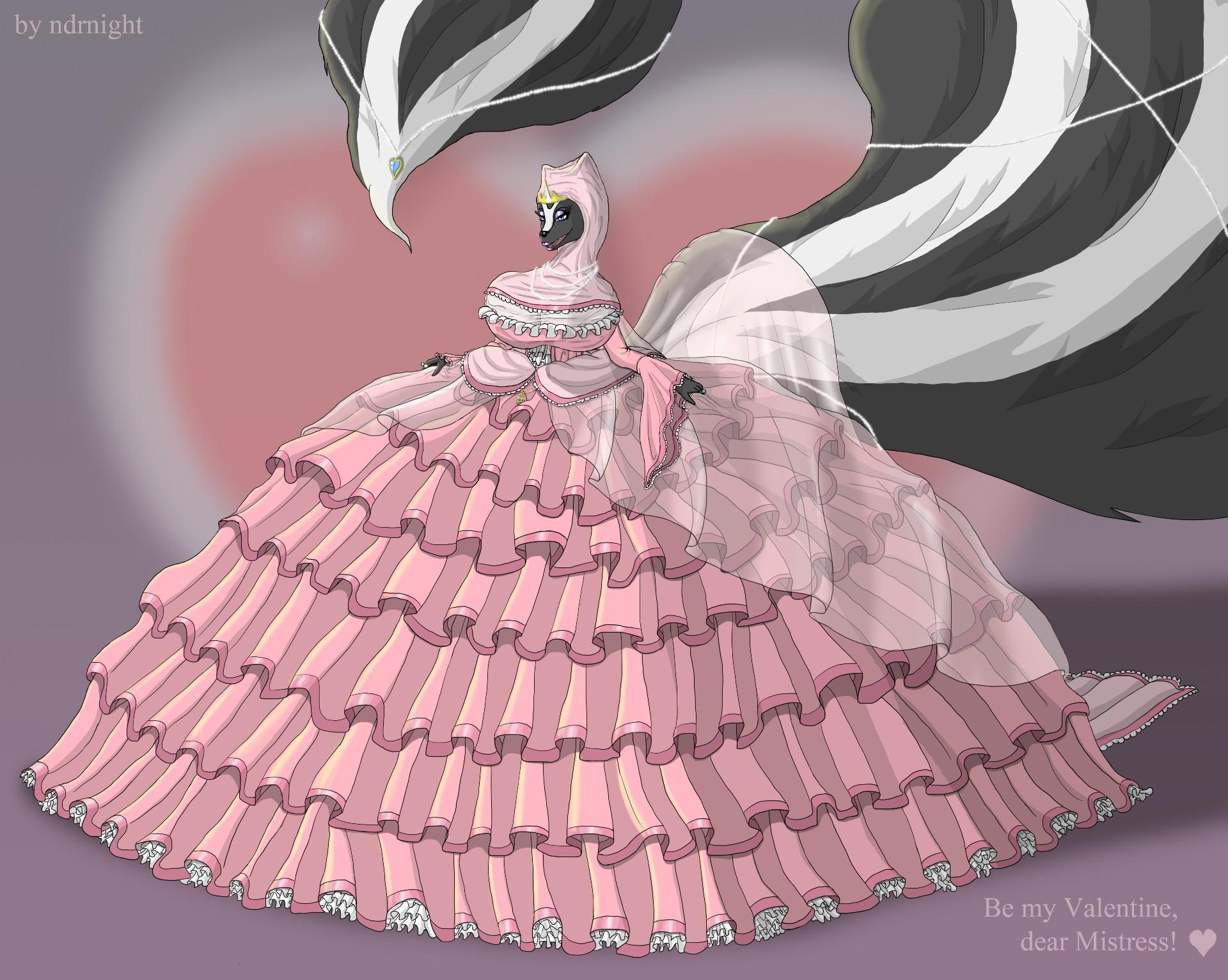 Be my Valentine, Mistress. by ASKABANIUM