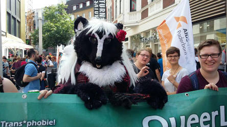 Twillight on the CSD Pride Day Bielefeld/Germany 3 by ASKABANIUM