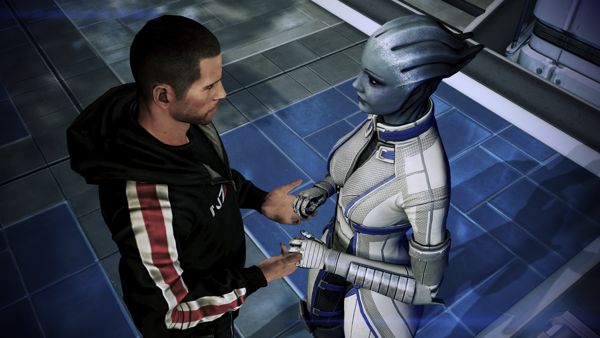 Mass Effect Shepard and Liara 3 by vatherlandMass Effect 3 Liara And Shepard