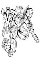 ADVOCATOR ROBOT UNCOLOURED by victortky