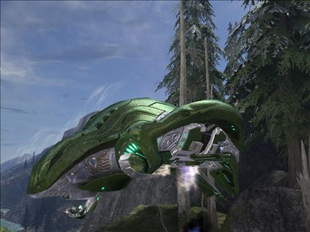 SEPARATIST PHANTOM IN HALO 3 by victortky