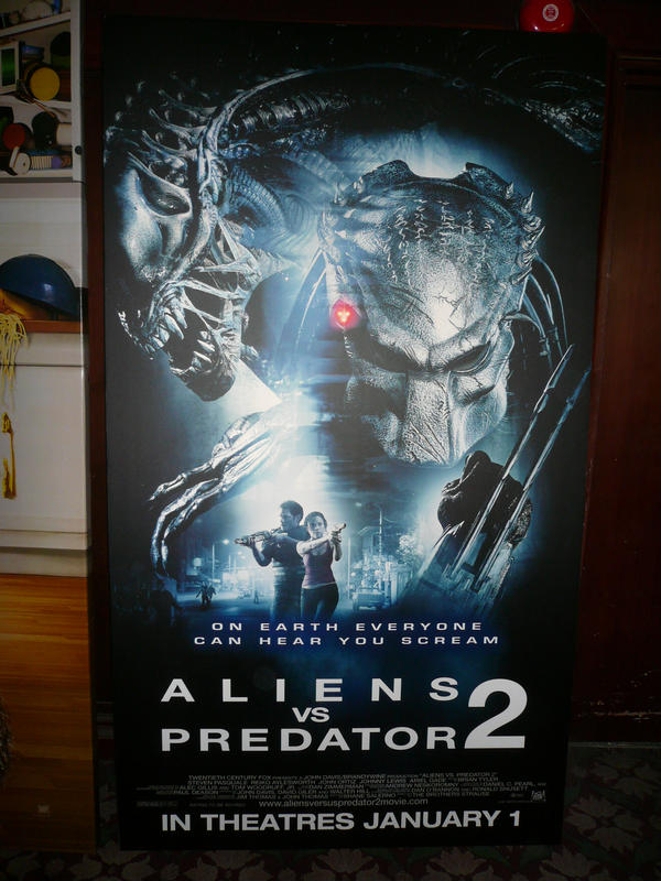 Alien VS Predator 2 Poster by victortky on DeviantArt