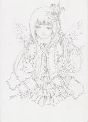 Commish: Rozen Maiden Chikako