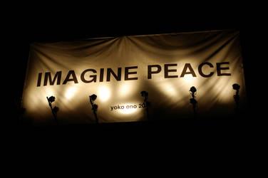 Imagine Peace by mossytreehead
