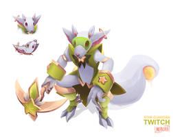 [SKIN CONCEPT] Star Guardian Twitch by The0utlander