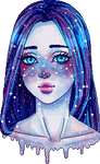 Galaxy girl by stardust-palace