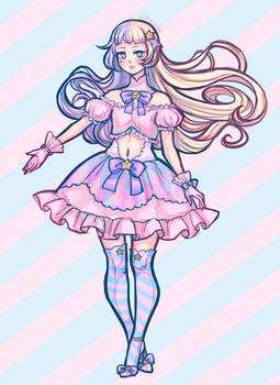 Cotton Candy adoptable (OPEN)