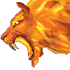 Fire cat by ospreyfalcon