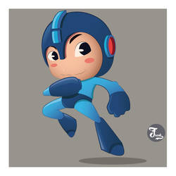 Mega Man by yubi01
