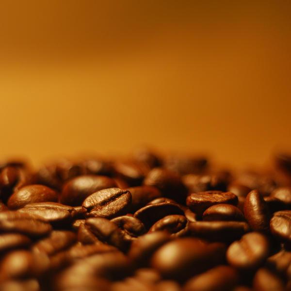 Coffee beans by Rabellu