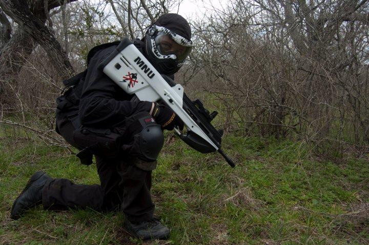 Rwby White Fan Art District 9 Airsoft Gun...