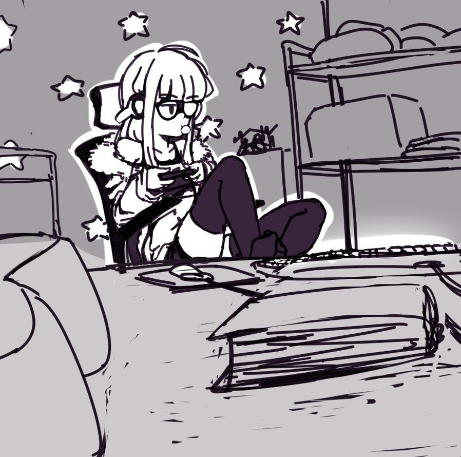 Persona 5 - Futaba by monkeyscythe