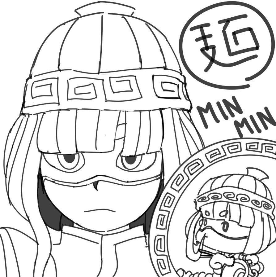 ARMS - Minmin by monkeyscythe