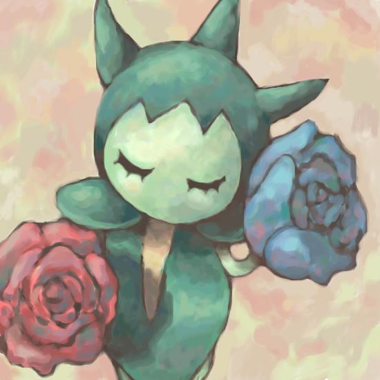 Gdyby Pokemony istniały naprawdę.. Roselia_by_SailorClef