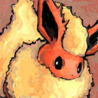 flareon by SailorClef