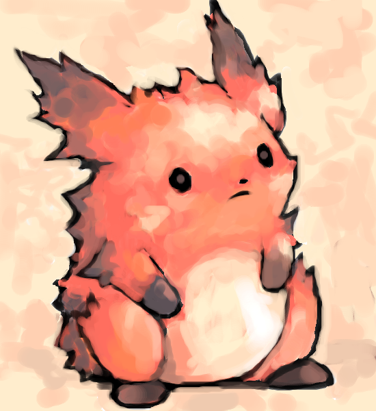 pikaflare aka honoguma by SailorClef
