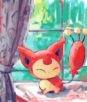 Skitty by SailorClef