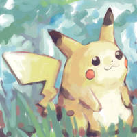 pikachu by SailorClef