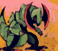 haxorus by SailorClef
