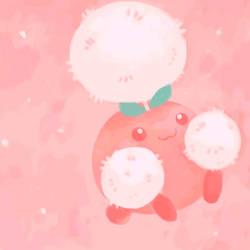 Jumpluff (again) by SailorClef