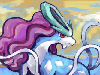 Suicune by SailorClef
