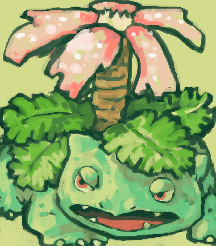 venusaur by SailorClef