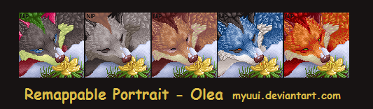 First Bloom - Olea Portrait by Myuui
