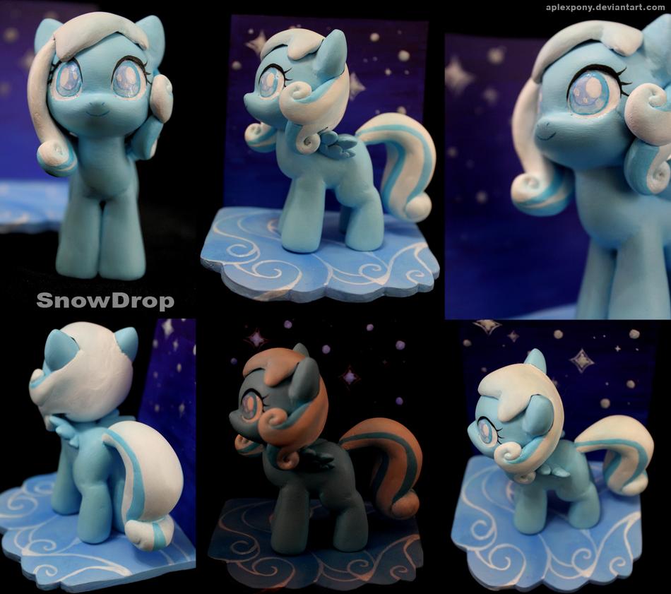 handmade Snowdrop by AplexPony