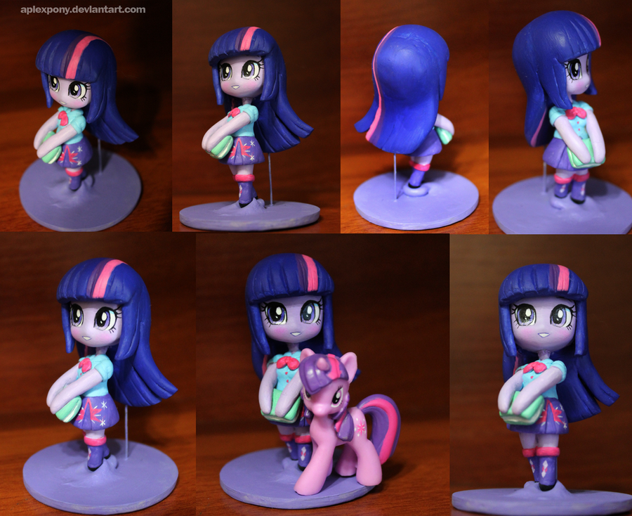 Chibi Twilight Sparkle Equestria Girl by AplexPony