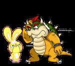 Bowser vs Cuddles
