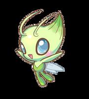 Pokemon - Celebi by CelestialGalaxies