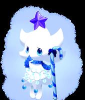 Christmas spirit-White by CelestialGalaxies