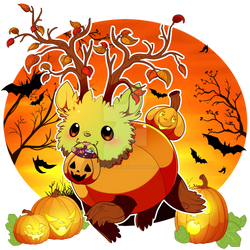 Tuckie and the Pumpkins ~Happy Halloween~
