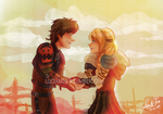 Hiccup and Astrid 29-06-2014
