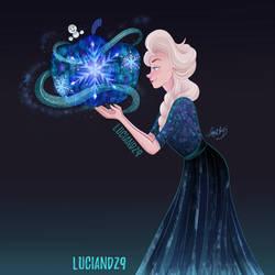 Queen Elsa by Luciand29