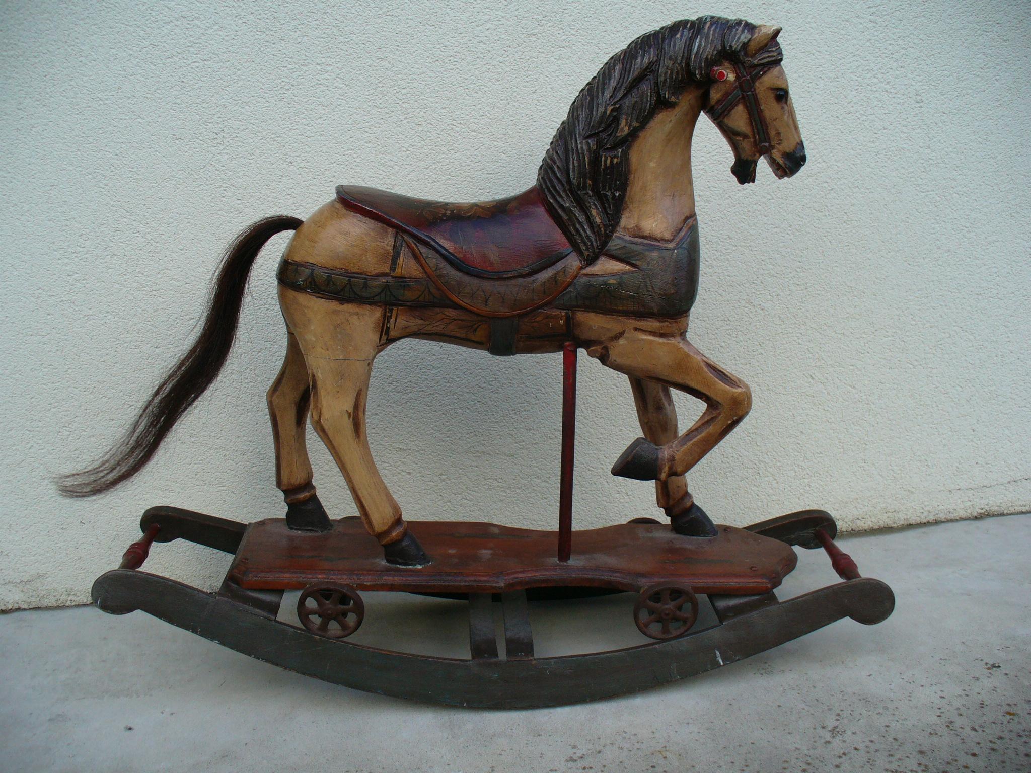 Rocking Horse I by AutumnRaindrop-Stock
