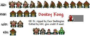 Donkey Kong Mario Kart Sprites