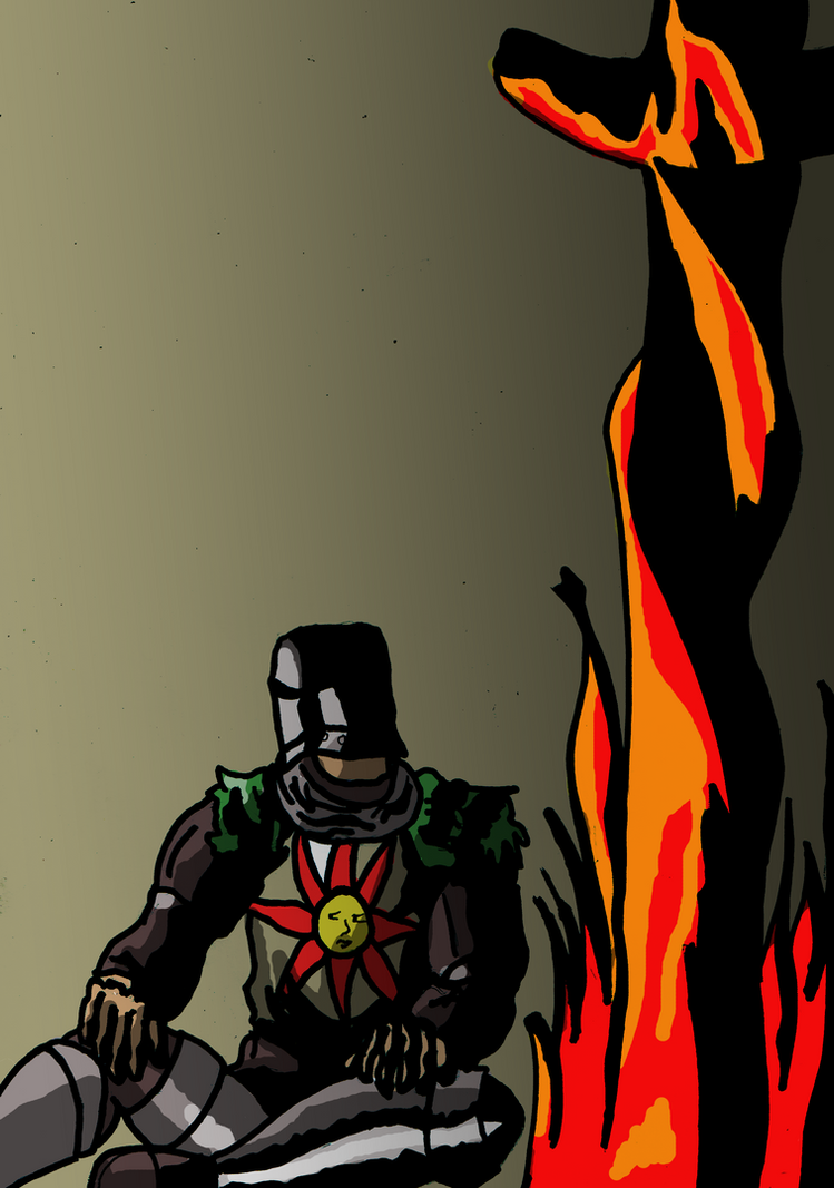 Solaire of Astora by WolfNM