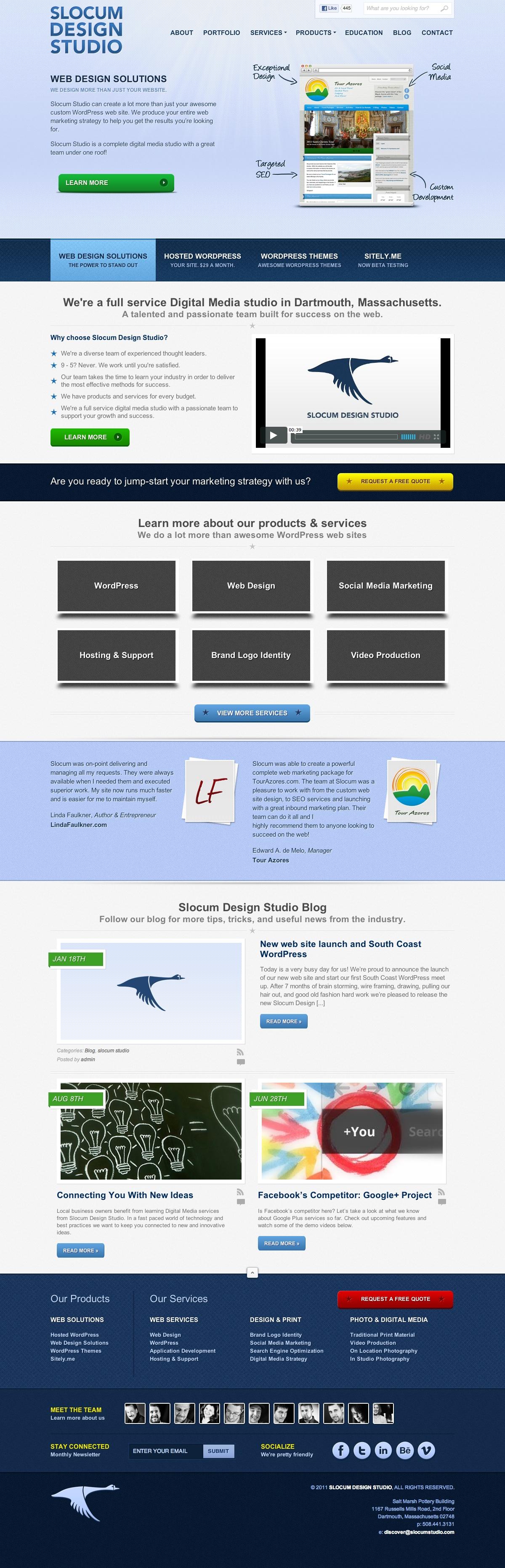 Slocum Design Web Design - Home by maverick3x6