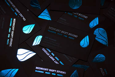 Midnight Shift Studio: Business Cards 2011