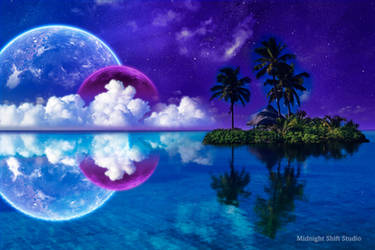 Celestial Tropics by maverick3x6