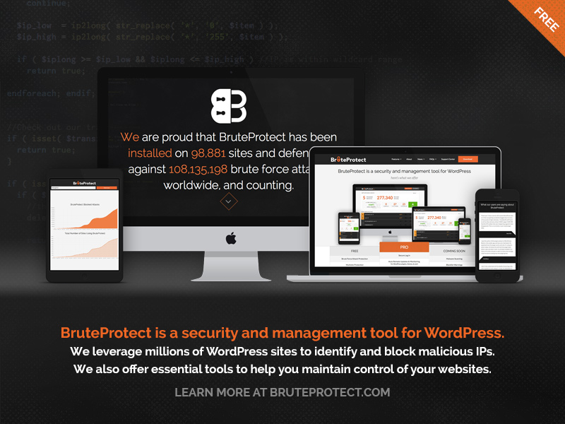 BruteProtect: Responsive Website 2014 by maverick3x6