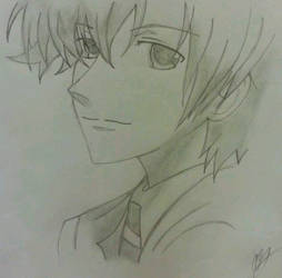 Tamaki Ouran Host Club Drawing by crimsonblood21