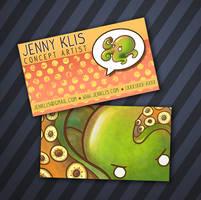 Business Cards by starfishey