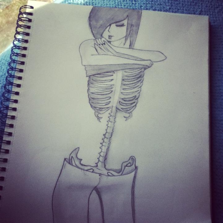 Anorexia by KJo9900 on DeviantArt