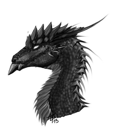 Dragon Form Conceptual by Sobuharten