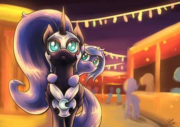 Villainy Goodness   Carnival Night By Lovelyneckbe